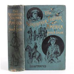 The Volunteer Soldier of America by John A. Logan