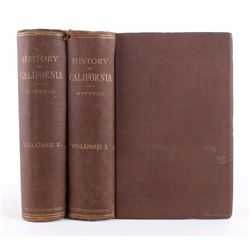 History of California by Theodore Hittell Vol.1&2