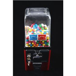 1954 Atlas Master Gum Ball Vending Machine