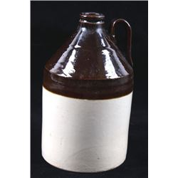 Salt Glazed Whiskey Stoneware Pottery Jug