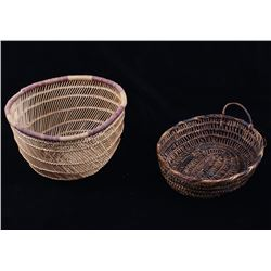 North California Indian Hand Woven Sifter Basket
