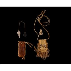 Native American Medicine Bags With Talisman