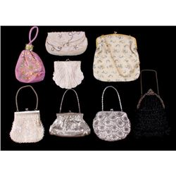 1920's-30's Mesh and Beaded Flapper Style Purses