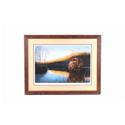 """Chocolate Sunrise"" by David Lanier Lithograph"