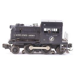 Lionel 41 United States Army Diesel Toy Switcher