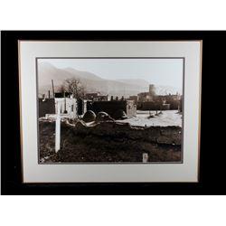 Steve Snyder Pueblo Graveyard & Town Photo 12/75