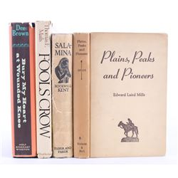 Collection of Native American and Western Books
