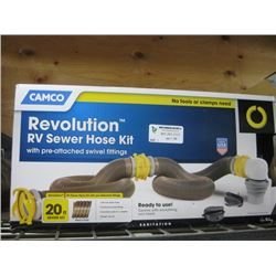 CAMCO REVOLUTION RV SEWER HOSE KIT