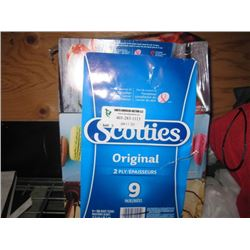 SCOTTIES 9PC BOX TISSUES