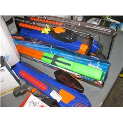 ASSORTED DART BLASTERS