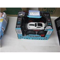 SHARPER IMAGE REMOTE CONTROL STUNT CAR