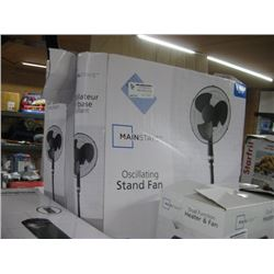PAIR OF MAINSTAY STAND FANS