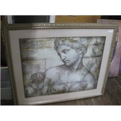 CHARITY 52 X 44 INCH ROMAN LOOKING STATUE
