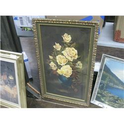 CHAIRTY 22 X 36 1/2 INCH PETEY KAYONYI ROSES 70-83