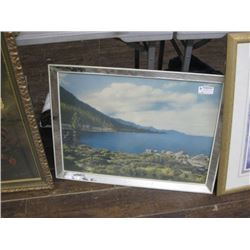 CHARITY 30 X 26 INCH MIRRORED EDGE MOUNTAINS