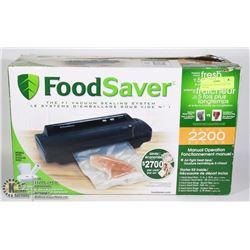 FOOD SAVER 2200 VACUUM FOOD SEALER