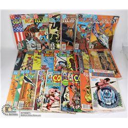 LOT OF 35 COMICS DC COMICS