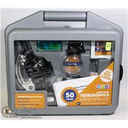 50PC KIDS MICROSCOPE AND SCIENTIFIC KIT