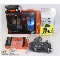 FLAT OF NEW & USED ELECTRONICS & ACCESSORIES