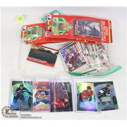 FLAT OF ASSORTED COLLECTIBLE SPORTS CARDS