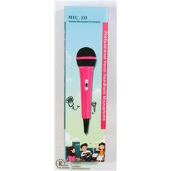 MIC-20 DYNAMIC MICROPHONE FOR SINGING