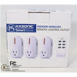 KASONIC SMART HOME INDOOR WIRELESS REMOTE CONTROL