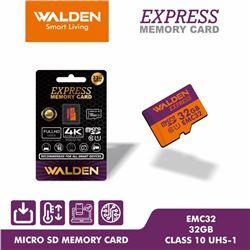 NEW WALDEN 32GB CLASS 10 MICRO SD