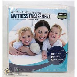 BED BUG, AND WATERPROOF MATTRESS ENCASEMENT