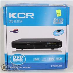 KCR DVD PLAYER