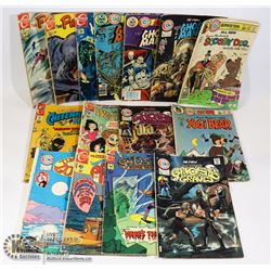 LOT OF OVER 15 CHARLETON COMICS INCLUDING: THE