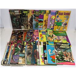LOT OF OVER (30) GOLD KEY COMICS INCLUDING: BUGS
