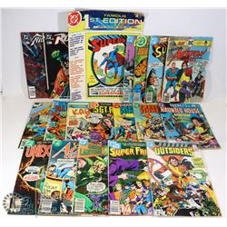 LOT OF ABOUT (20) DC COMICS INCLUDING: SUPERMAN,