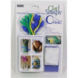 NEW PACK OF CHEF STRAPS (PROFESSIONAL SILICONE