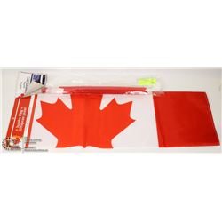 NEW JUMBO (2' X 3') CANADIAN FLAG SOLD WITH