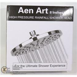 "AEN ART 8"" HIGH PRESSURE RAINFALL SHOWER HEAD"