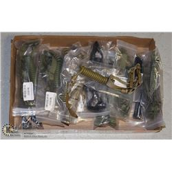 15 TACTICAL KEYCHAIN ASSORTED COLOR