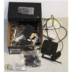 STORAGE LOCKER FIND BOX OF ELECTRONICS INCLUDING