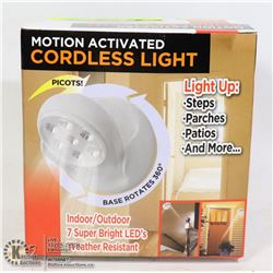 NEW INDOOR/ OUTDOOR LED MOTION ACTIVATED