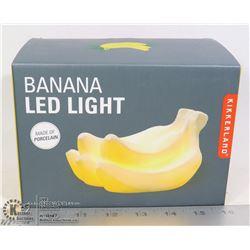 NEW BANANA SHAPE LED PORCELAIN LIGHT