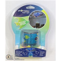 """NEW PROJECTABLES NIGHT LIGHT """"OCEAN"""" WALL TO"""