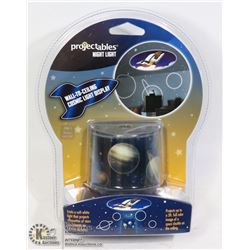 """NEW PROJECTABLES NIGHT LIGHT """"SPACE"""" WALL TO"""