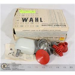 VINTAGE WAHL HOME MASSAGER IN ORIGINAL BOX