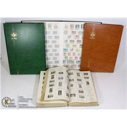 LARGE CANADA/WORLD STAMP COLLECTION IN ALBUMS &