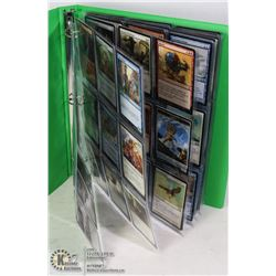 180 VARIOUS MTG MAGIC CARDS IN BINDER