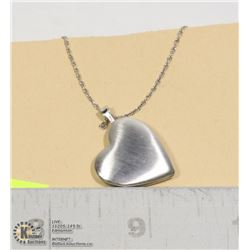 STERLING SILVER .925 LOCKET AND CHAIN