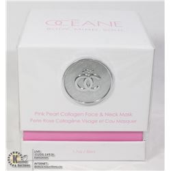 OCEANE PINK PEARL COLLAGEN FACE & NECK MASK