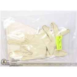PAIR OF WHITE RCMP MUSICAL RIDE GLOVES