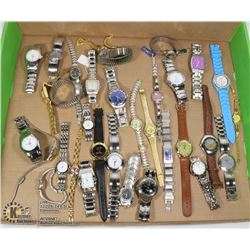 FLAT OF ASSORTED WATCHES