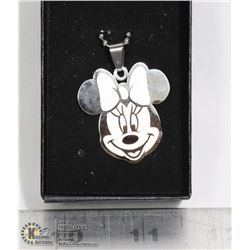 MINNIE MOUSE SHAPED PENDANT WITH
