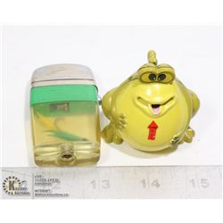 FROG AND FISH HOOK LIGHTERS